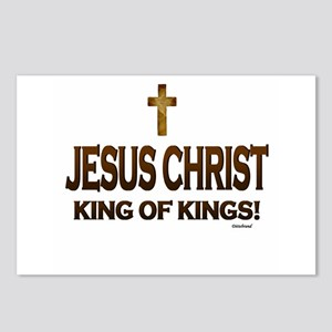 Jesus Christ King of King Postcards (Package of 8)